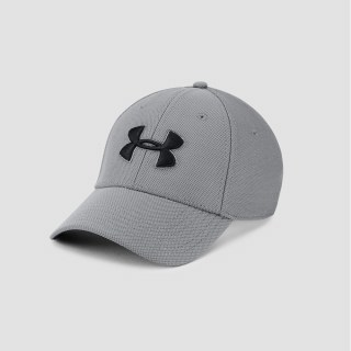 Pánska šiltovka Men's Blitzing 3.0 Cap-GRY Under Armour 1305036-040